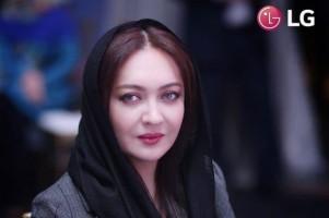 9karimi niki تبلیغ لاکچری نیکی کریمی برای ال جی