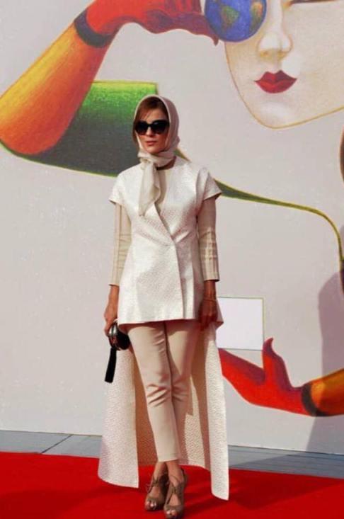sarabahramiii 12 تیپ جذاب سارا بهرامی در جشنواره فیلم ونیز